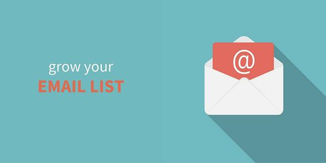 Use your website to grow your email list.