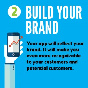 Mobile apps build your brand