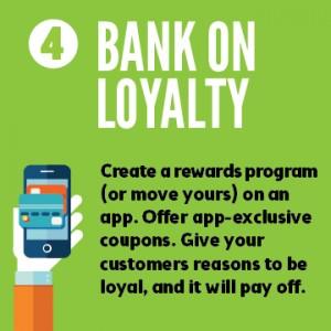 Mobile apps make loyal customers