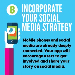 Mobile apps boost your social media